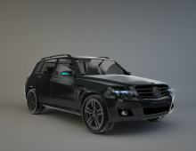 Kerry GLK Mercedes 3D model
