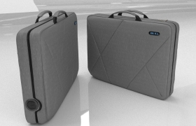 Messenger Bag 3D model