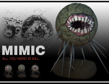 Mimic 3d Model - All You Need Is Kill (Manga) 3D model