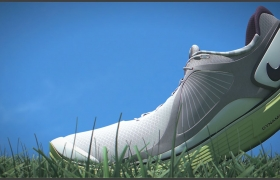 Nike Shoe Animation 3D model