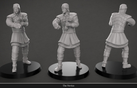 Digital Sculptor 3D model - Novice Character