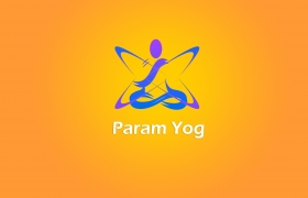 Param yog logo design 3D model - Param yoga logo design