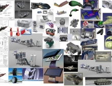 my portfolio: http://siromko.wix.com/step1  3D model - I am Mechanical Engineer with over 8 years of experience working on most demanding projects on the international market. I have excellent knowledge and skills in Catia,