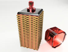 Perfume packaging 3D model
