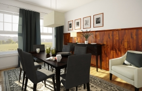 Dining Room - 3D visualization 3D model