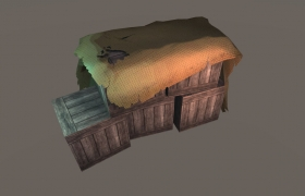 The Dungeon of Destiny PC game 3D model