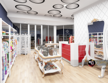 Retail Store Visualization 3D model - Retail Store Visualization