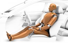 Modeling Robot Test from automotive compahy 3D model