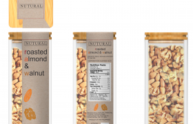 Nutural: Roasted Almond & Walnut 3D model