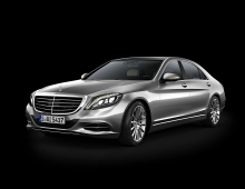 Automotive 3D Renders 3D model - Mercedes S-Class