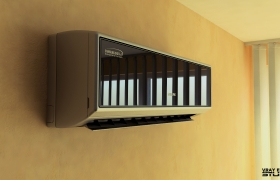 Samsung airconditioner 3D model