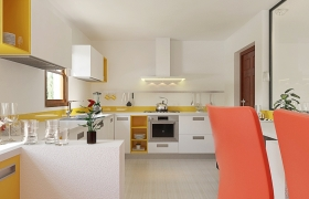 Kitchen design in 3ds max and v-ray 3D model