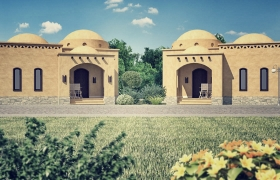 Compound in Taba / Egypt 3D model
