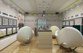 LED Showroom 3D model
