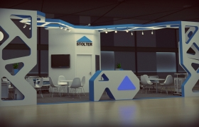 booth design Stolter 3D model