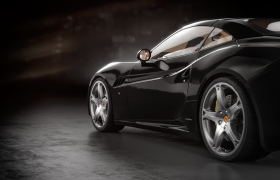 Ferrari California renders 3D model