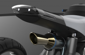 Bike design & rendering 3D model