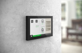 Touch panel interface design & 3D VIS 3D model