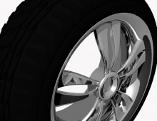 Product- Tyres 3D model