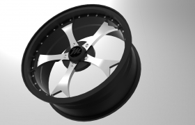 Alloy design 3D model