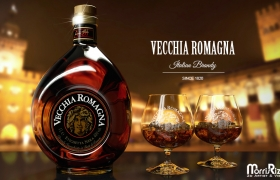 Vecchia Romagna 3D model - The most famous Italian brandy in the world!