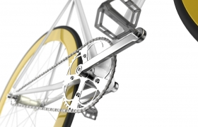 Fixed bike visualisation 3D model