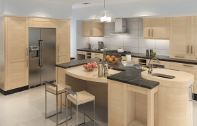 3D RENDERING KITCHEN 3D model - 3D RENDERING KITCHEN