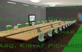 Interior Design *Conference room* 3D model
