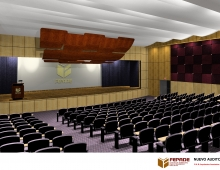 FEPADE-ISEADE AUDITORIUM 3D model - interior view