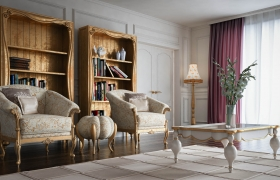Volpi Salon 3D model - Interior Design : Volpi Salon