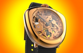 Skeleton Watch Design & development 3D model