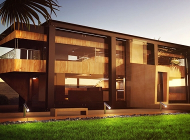 ARCHITECTURAL VISUALIZATION Modern House 3D model