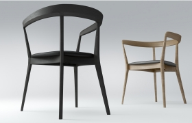 Chair model&render. 3D model