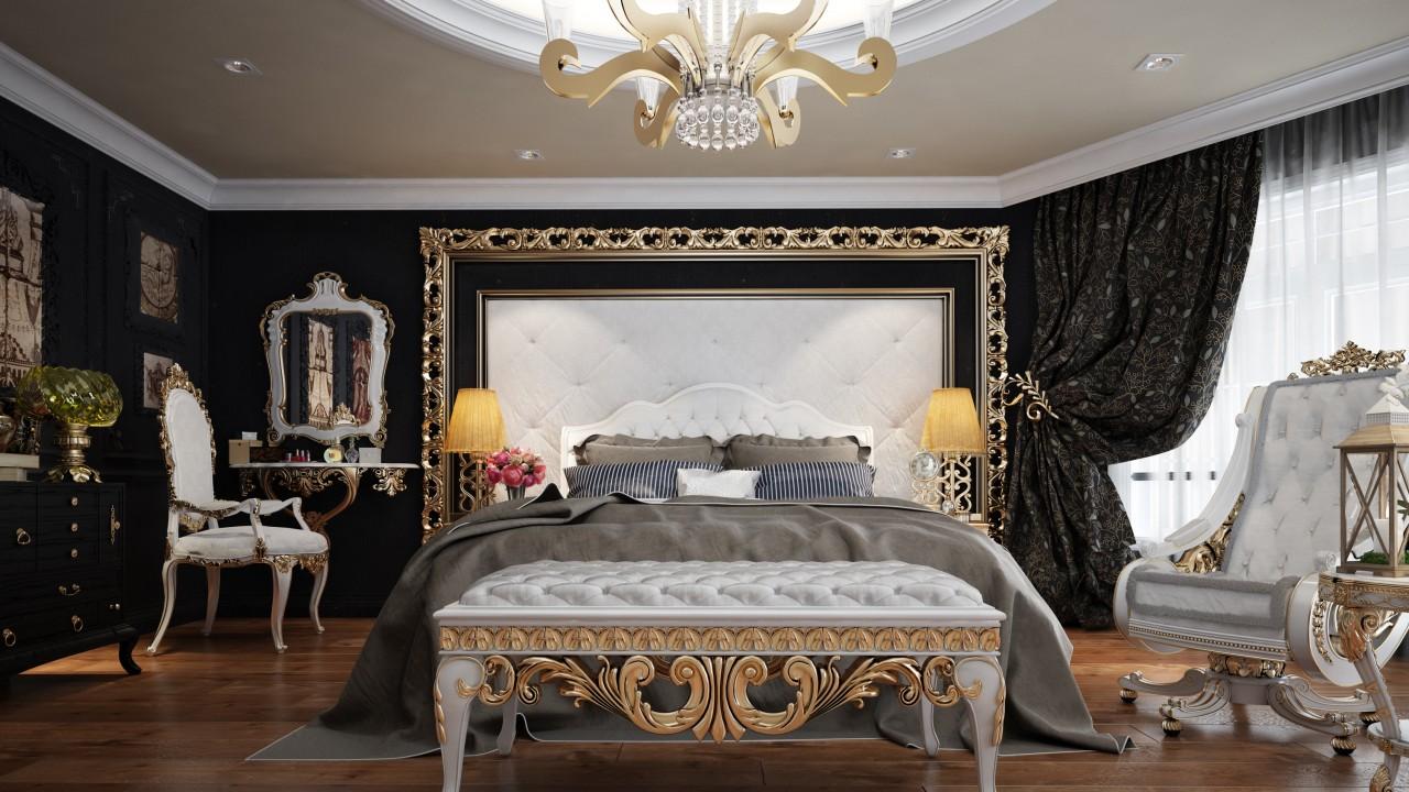 classic bedroom freelancers 3d