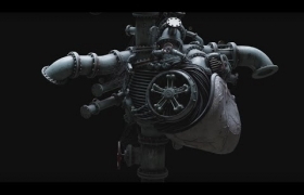 Heart Engine 3D model