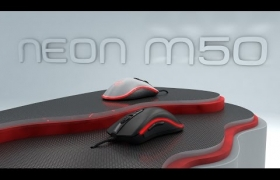 NEON M50 - Product Visualization and Animation 3D model - Introducing NEON M50.