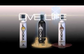LOVOKA Liquers animation   3D model - animation and postproduction