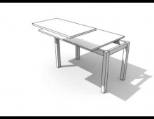 Table instructions 3D model