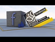 Join The Network Facebook - C4D Cinema 4D - AE - Intro Animation  3D model