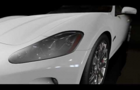 My Portfolio 3D model - Maserati GranTurismo intro animation.