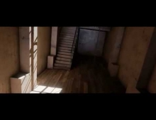 Unreal Engine 4 - Hallway Demo - 4k 60fps - UE4  3D model