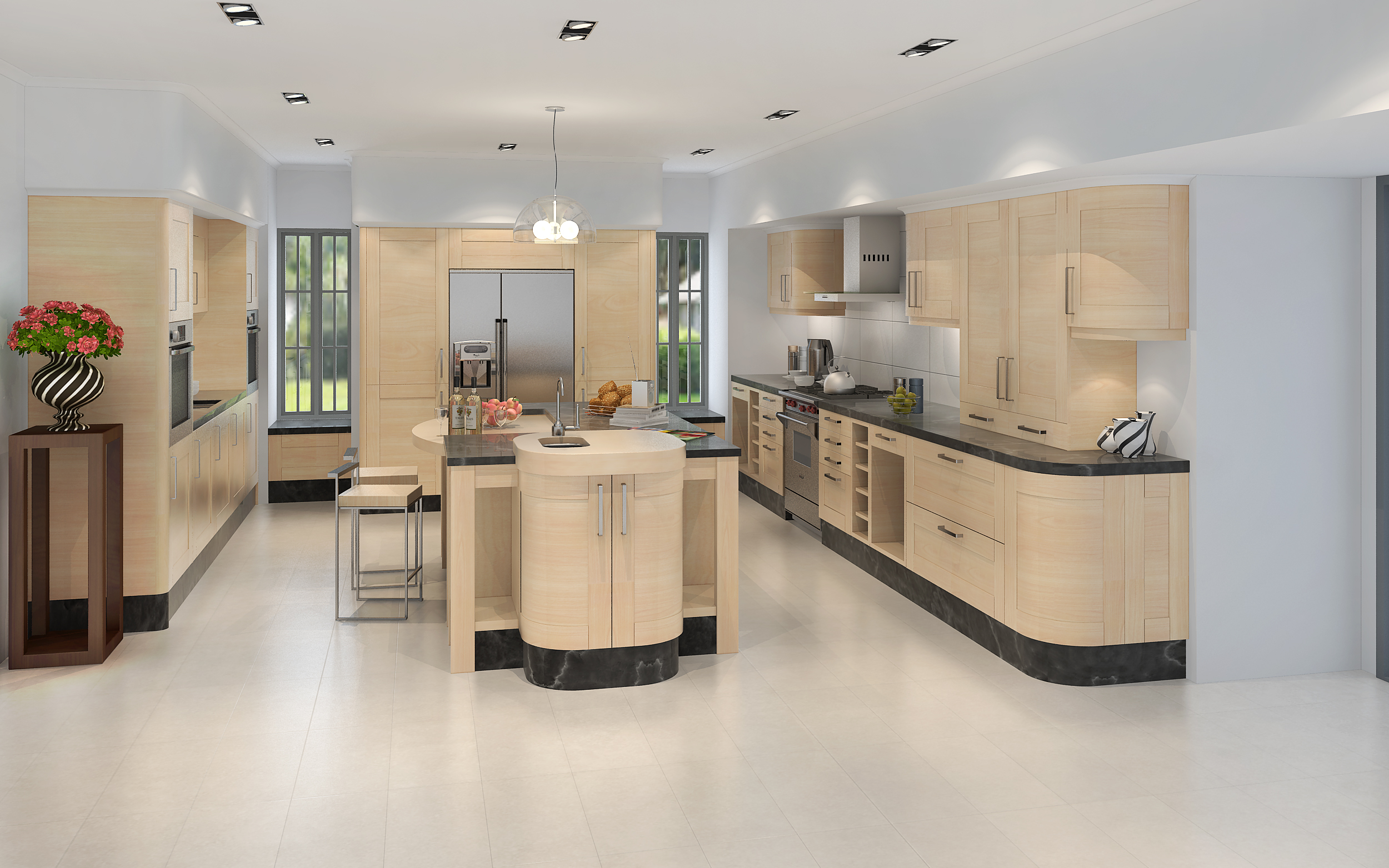 3D RENDERING KITCHEN 3D model