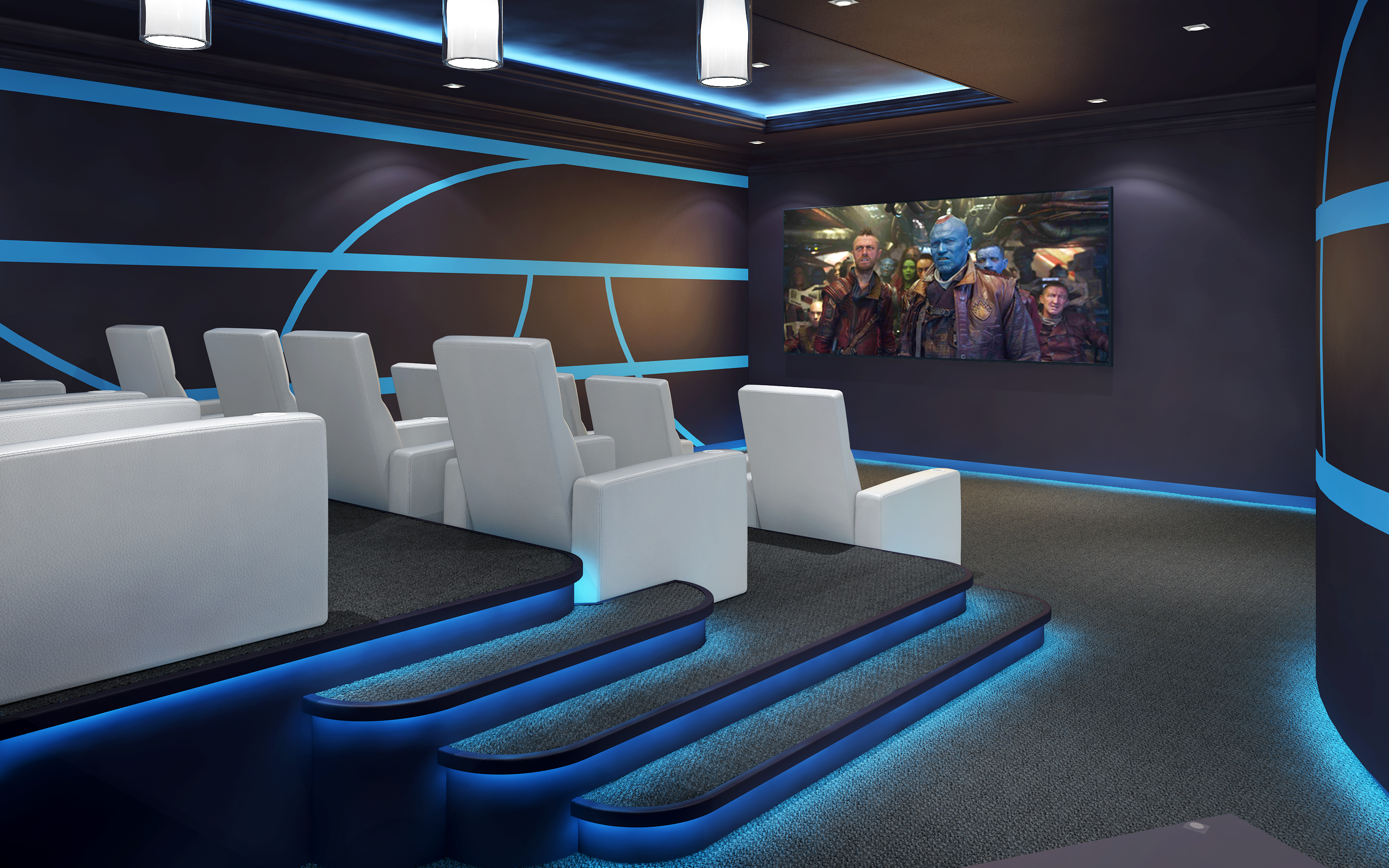 3d Home Theater Freelancers 3d
